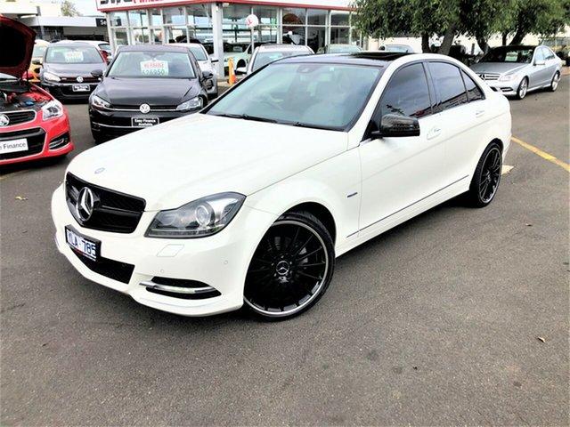 Used Mercedes-Benz C-Class W204 MY11 C250 CDI BlueEFFICIENCY 7G-Tronic Avantgarde Seaford, 2011 Mercedes-Benz C-Class W204 MY11 C250 CDI BlueEFFICIENCY 7G-Tronic Avantgarde White 7 Speed
