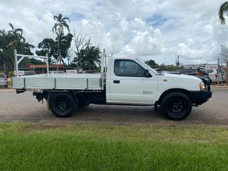2013 Nissan Navara D22 S5 DX 4x2 White 5 Speed Manual Cab Chassis.