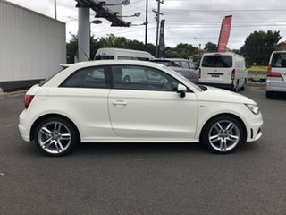 2011 Audi A1 8X MY11 Sport S Tronic White 7 Speed Sports Automatic Dual Clutch Hatchback.