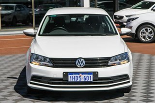 2015 Volkswagen Jetta 1B MY15 118TSI DSG Trendline Pure White 7 Speed Sports Automatic Dual Clutch