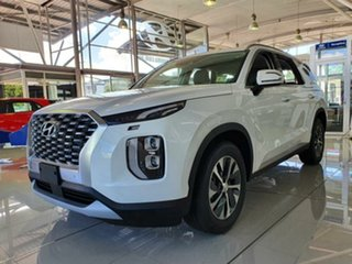 2021 Hyundai Palisade LX2.V1 MY21 AWD White Cream 8 Speed Sports Automatic Wagon