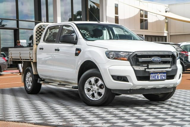 Used Ford Ranger PX MkII XL Attadale, 2015 Ford Ranger PX MkII XL White 6 Speed Sports Automatic Cab Chassis