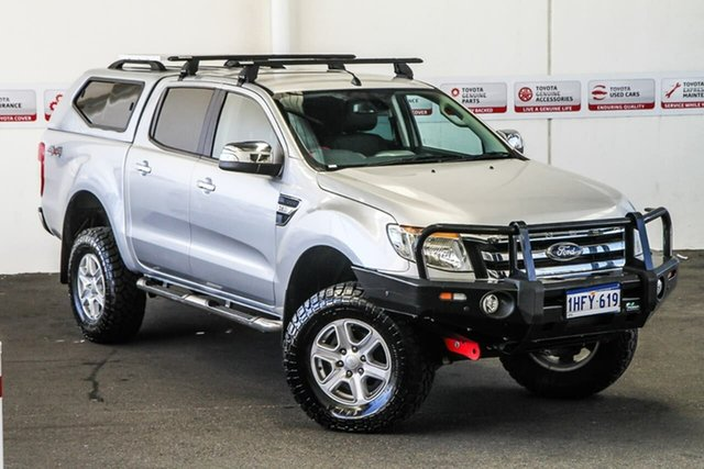 Pre-Owned Ford Ranger PX XLT 3.2 (4x4) Rockingham, 2014 Ford Ranger PX XLT 3.2 (4x4) 6 Speed Manual Double Cab Pick Up