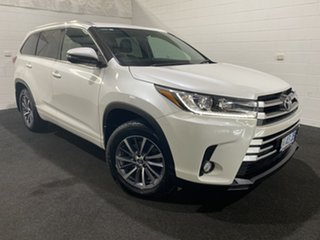 2017 Toyota Kluger GSU50R GXL 2WD White 8 Speed Sports Automatic Wagon.