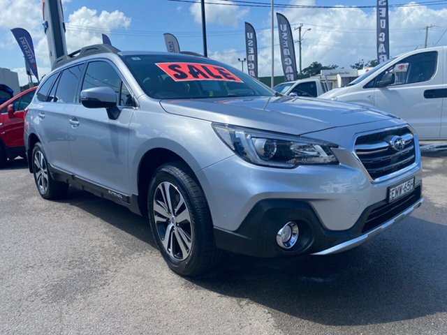 Used Subaru Outback B6A MY19 2.5i CVT AWD Cardiff, 2019 Subaru Outback B6A MY19 2.5i CVT AWD Silver 7 Speed Constant Variable Wagon
