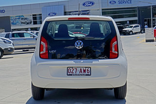 2013 Volkswagen UP! Type AA MY14 White 5 Speed Manual Hatchback