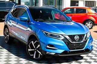 2019 Nissan Qashqai J11 Series 2 Ti X-tronic Vivid Blue 1 Speed Constant Variable Wagon.