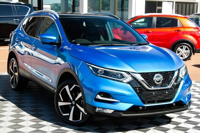 Used Nissan Qashqai J11 Series 2 Ti X-tronic Attadale, 2019 Nissan Qashqai J11 Series 2 Ti X-tronic Vivid Blue 1 Speed Constant Variable Wagon