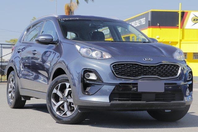 Used Kia Sportage QL MY20 S 2WD Rocklea, 2019 Kia Sportage QL MY20 S 2WD Steel Grey 6 Speed Sports Automatic Wagon