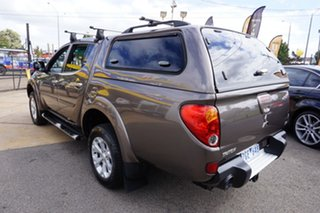 2012 Mitsubishi Triton MN MY12 GLX-R Double Cab Ironbark 5 Speed Manual Utility.
