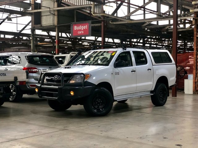 Used Toyota Hilux KUN26R MY05 SR Mile End South, 2005 Toyota Hilux KUN26R MY05 SR White 5 Speed Manual Utility