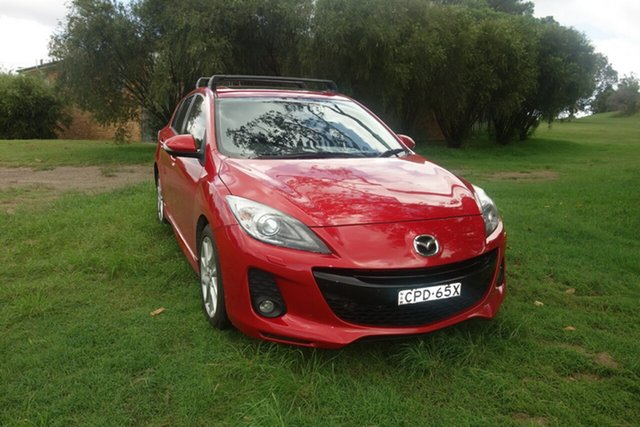 Used Mazda 3 BL10L2 MY13 SP25 Activematic East Maitland, 2013 Mazda 3 BL10L2 MY13 SP25 Activematic Red 5 Speed Sports Automatic Hatchback