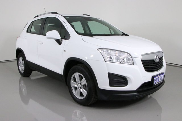 Used Holden Trax TJ MY15 LS Bentley, 2015 Holden Trax TJ MY15 LS White 6 Speed Automatic Wagon