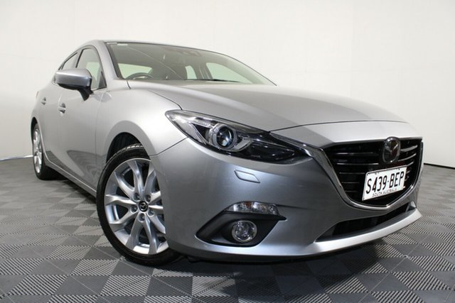 Used Mazda 3 BM5236 SP25 SKYACTIV-MT Astina Wayville, 2014 Mazda 3 BM5236 SP25 SKYACTIV-MT Astina Silver 6 Speed Manual Sedan