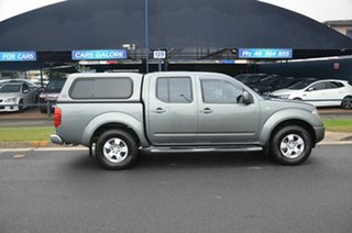 2010 Nissan Navara D40 ST (4x4) Grey 5 Speed Automatic Dual Cab Pick-up.