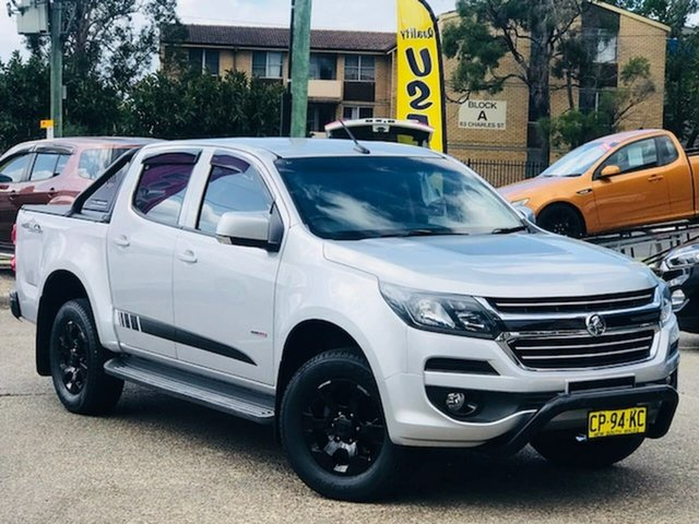 Used Holden Colorado RG MY18 LT Pickup Crew Cab 4x2 Liverpool, 2018 Holden Colorado RG MY18 LT Pickup Crew Cab 4x2 Silver 6 Speed Sports Automatic Utility