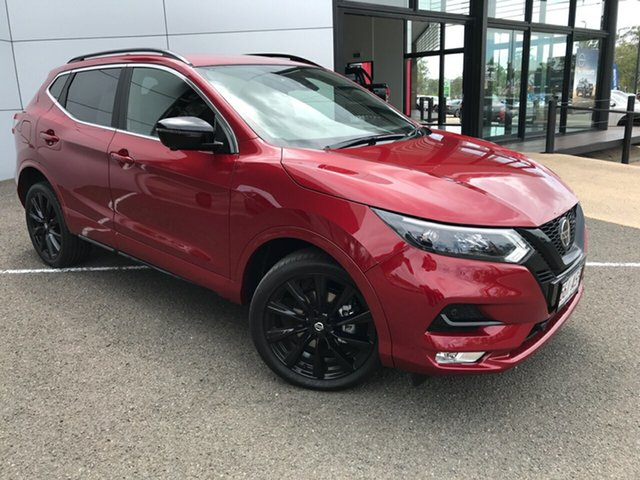 Demo Nissan Qashqai J11 Series 3 MY20 Midnight Edition X-tronic South Gladstone, 2020 Nissan Qashqai J11 Series 3 MY20 Midnight Edition X-tronic 1 Speed Constant Variable Wagon