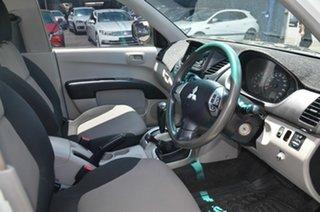 2011 Mitsubishi Triton MN MY11 GLX (4x4) White 4 Speed Automatic 4x4 Cab Chassis