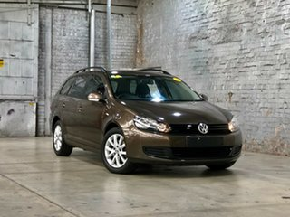 2011 Volkswagen Golf VI MY11 90TSI DSG Trendline Bronze 7 Speed Sports Automatic Dual Clutch Wagon.