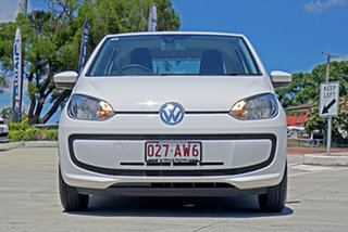 2013 Volkswagen UP! Type AA MY14 White 5 Speed Manual Hatchback.