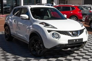 2019 Nissan Juke F15 MY18 Ti-S 2WD Arctic White 6 Speed Manual Hatchback.