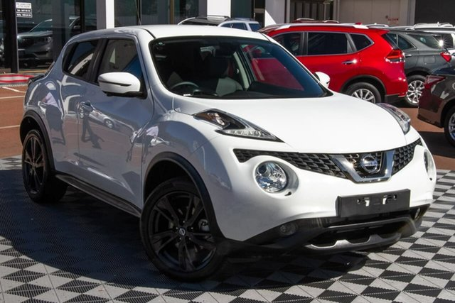 Used Nissan Juke F15 MY18 Ti-S 2WD Attadale, 2019 Nissan Juke F15 MY18 Ti-S 2WD Arctic White 6 Speed Manual Hatchback