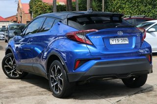 2019 Toyota C-HR NGX10R Koba S-CVT 2WD Nebula Blue & Black Roof 7 Speed Constant Variable Wagon.