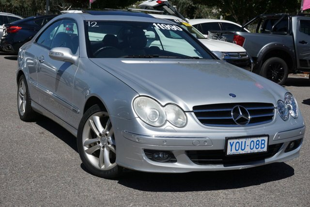 Used Mercedes-Benz CLK-Class C209 MY06 CLK280 Avantgarde Phillip, 2006 Mercedes-Benz CLK-Class C209 MY06 CLK280 Avantgarde Silver 7 Speed Automatic Coupe