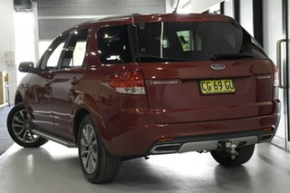 2016 Ford Territory SZ MK2 Titanium (RWD) Emperor Red 6 Speed Automatic Wagon.