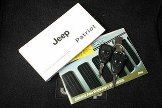 2014 Jeep Patriot MK MY14 Blackhawk CVT Auto Stick 4x2 Black 6 Speed Constant Variable Wagon