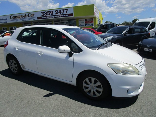Used Toyota Corolla ZRE152R MY10 Conquest Kedron, 2010 Toyota Corolla ZRE152R MY10 Conquest White 4 Speed Automatic Hatchback