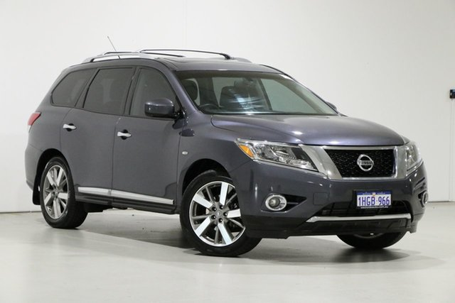 Used Nissan Pathfinder R52 TI (4x4) Bentley, 2014 Nissan Pathfinder R52 TI (4x4) Grey Continuous Variable Wagon