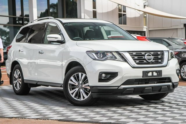 Used Nissan Pathfinder R52 Series III MY19 ST-L X-tronic 4WD Attadale, 2019 Nissan Pathfinder R52 Series III MY19 ST-L X-tronic 4WD Ivory Pearl 1 Speed Constant Variable