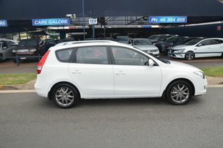2012 Hyundai i30 FD MY12 CW SLX 1.6 CRDi White 4 Speed Automatic Wagon.