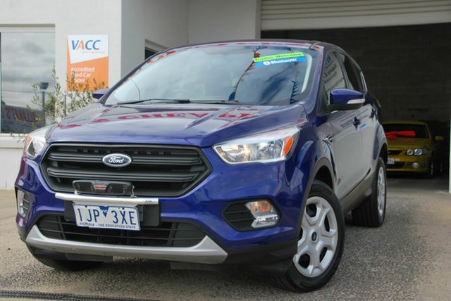 Used Ford Escape ZG Ambiente (FWD) Wendouree, 2016 Ford Escape ZG Ambiente (FWD) Blue 6 Speed Automatic Wagon