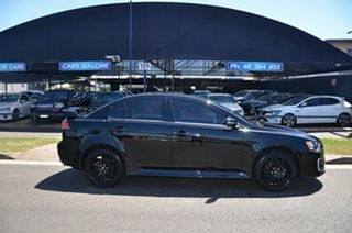 2017 Mitsubishi Lancer CF MY17 Black Edition (es) Black 6 Speed CVT Auto Sequential Sedan