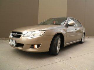 2007 Subaru Liberty B4 MY08 AWD Champagne Bronze 5 Speed Manual Sedan.