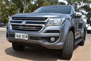 2017 Holden Colorado RG MY17 LTZ Pickup Crew Cab Grey 6 Speed Manual Utility.
