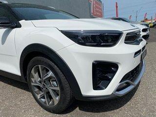 2020 Kia Stonic YB MY21 GT-Line DCT FWD Clear White/aurora B 7 Speed Sports Automatic Dual Clutch.