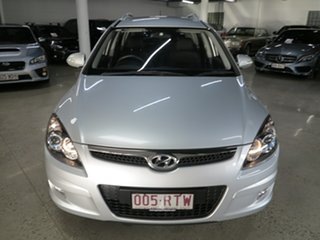 2011 Hyundai i30 FD MY11 SLX cw Wagon Silver 4 Speed Automatic Wagon