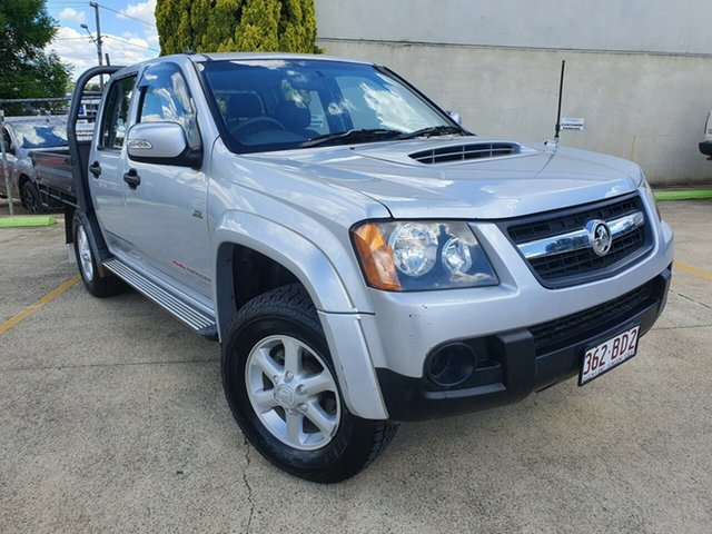 Used Holden Colorado RC MY10.5 LX Crew Cab Toowoomba, 2010 Holden Colorado RC MY10.5 LX Crew Cab Silver 5 Speed Manual Utility