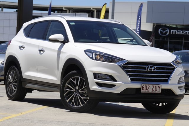 Used Hyundai Tucson TL3 MY20 Elite 2WD Aspley, 2020 Hyundai Tucson TL3 MY20 Elite 2WD Pure White 6 Speed Automatic Wagon