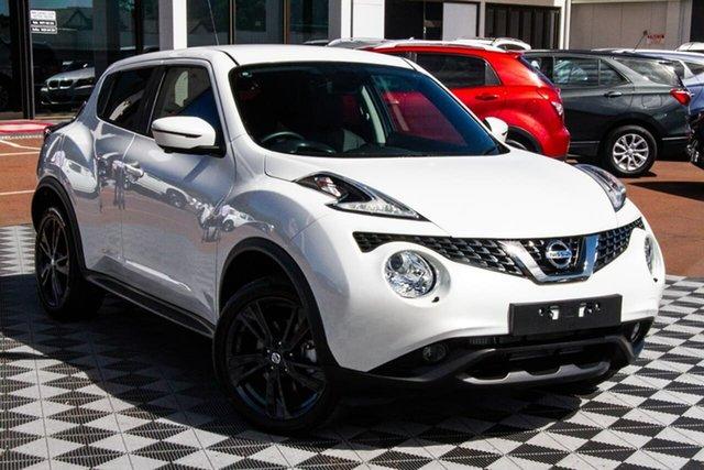 Used Nissan Juke F15 MY18 Ti-S 2WD Attadale, 2019 Nissan Juke F15 MY18 Ti-S 2WD Ivory Pearl 6 Speed Manual Hatchback