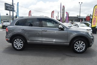 2015 Volkswagen Touareg 7P MY15 V6 TDI Tiptronic 4MOTION Grey 8 Speed Sports Automatic Wagon.