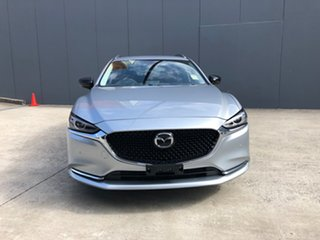 2021 Mazda 6 GL1033 GT SP SKYACTIV-Drive Sonic Silver 6 Speed Sports Automatic Wagon.