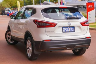 2019 Nissan Qashqai J11 Series 3 MY20 ST X-tronic White 1 Speed Constant Variable Wagon