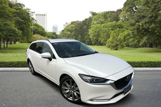 2020 Mazda 6 GL1033 GT SKYACTIV-Drive White 6 Speed Sports Automatic Wagon.