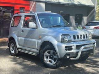 2006 Suzuki Jimny SN413 T6 JLX Metallic Silver 4 Speed Automatic Hardtop.