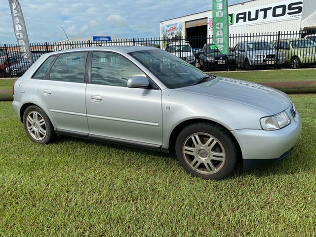 Used Audi A3 8L MY2000 Berrimah, 2000 Audi A3 8L MY2000 Silver 5 Speed Manual Hatchback