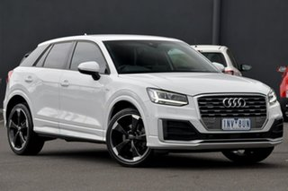 2016 Audi Q2 GA MY17 Sport S Tronic Quattro White 7 Speed Sports Automatic Dual Clutch Wagon.